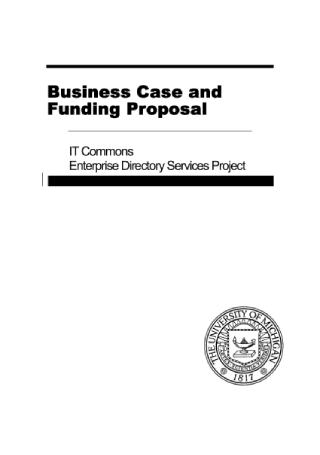 Business Funding Proposal