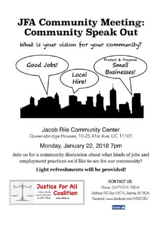 Community Announcement Flyer