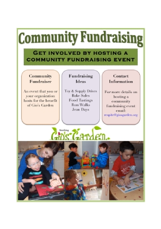 Community Event Fundraising Flyer