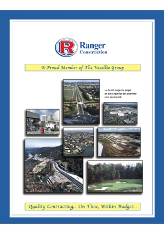 Construction Business Brochure