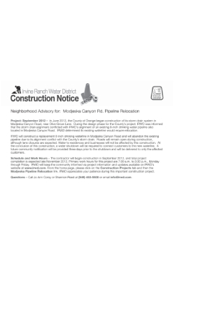 Construction Postcard