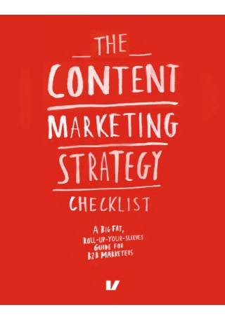 Content Marketing Strategy Checklist