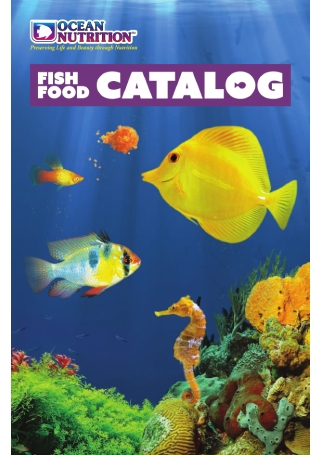 Fish Food Catalog