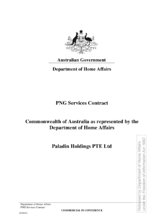 Government Services Contract Sample