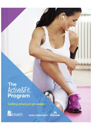 Home Fitness Kit Flyer