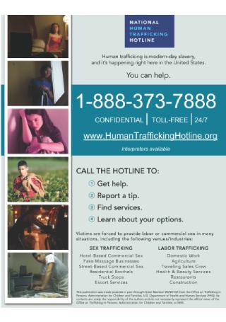 Hotline Flyer