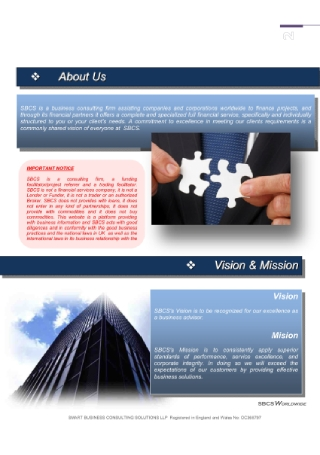 IT Consulting Business Proposal