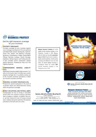 Insurance Company Brochure