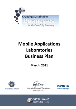 One Page Business Plan1