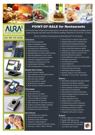 Point of Sale Flyer