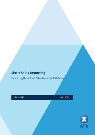 Short Sales Report
