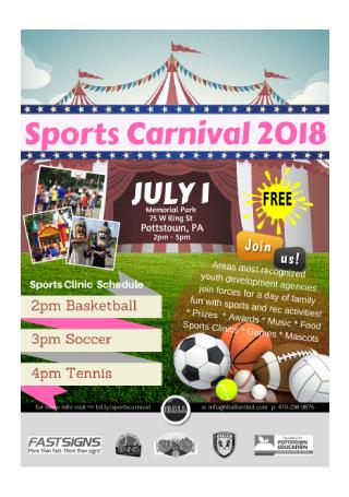 Sports Carnival Flyer