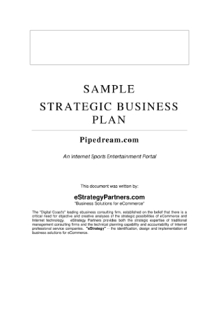 Strategic Business Plan1