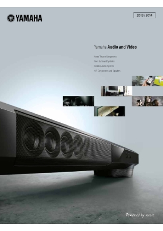Audio and Video Product Brochure
