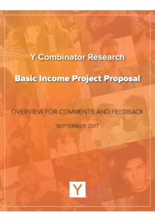 Basic Income Project Proposal