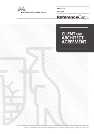 Client and Architect Agreement