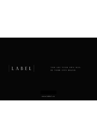 Clothing Label Brochure