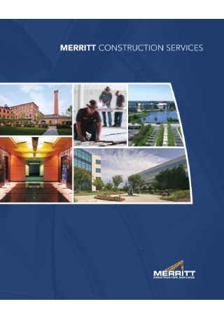 Construction Services Brochure