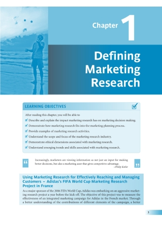 Defining Marketing Research