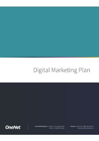 Digital Marketing Plan1