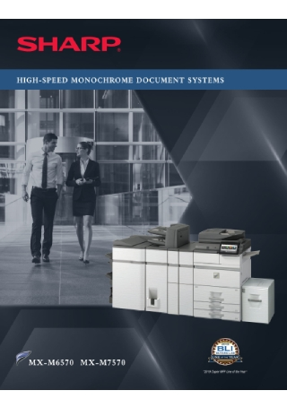 Document Systems Product Brochure