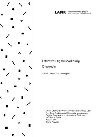 Effective Digital Marketing Channels