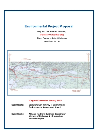 Environmental Project Proposal