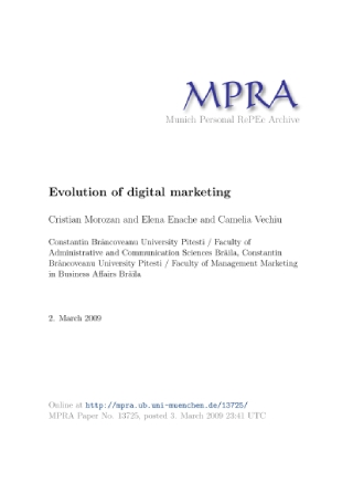 Evolution of Digital Marketing