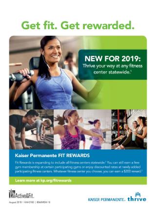 Fit Rewards Flyer