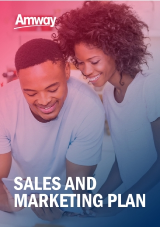 Formal Sales and Marketing Plan