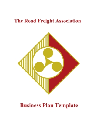 Freight and Logistics Business Plan