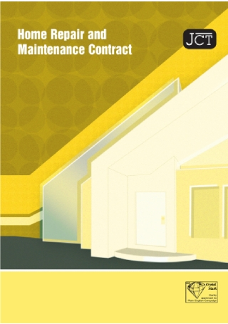 Home Repair and Maintenance Contract