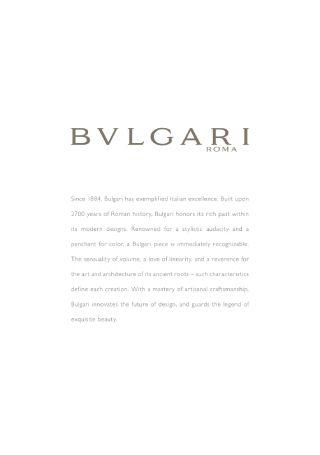 Lavish Bridal Brochure
