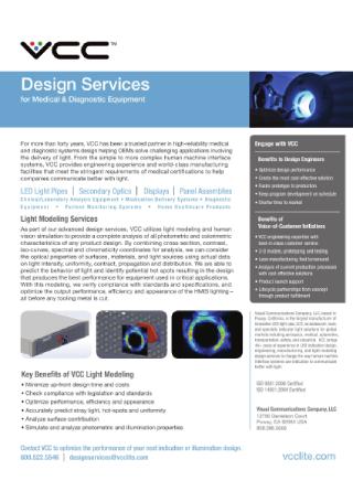 Medical Services Flyer