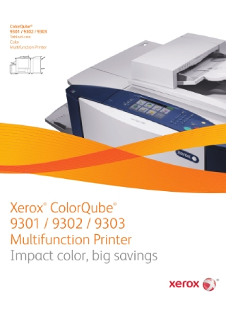 Multifunction Printer Brochure