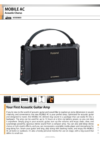 Music Products Brochure