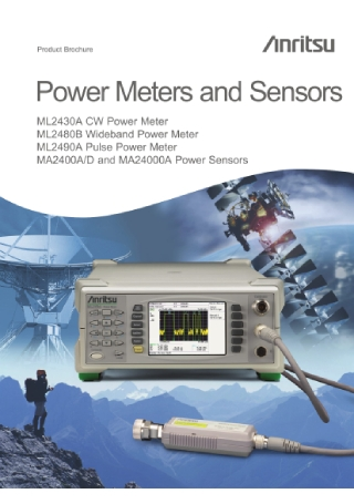 Power Meters and Sensors Brochure