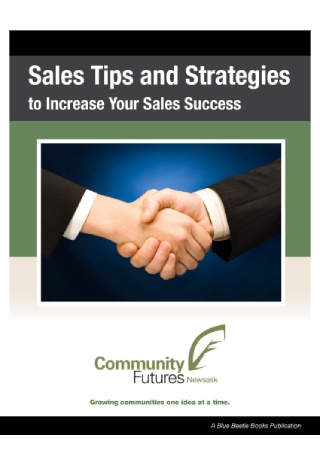 Sales Tips and Strategies1