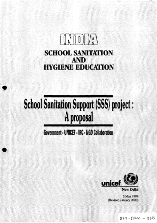 School Sanitation Support Project Proposal