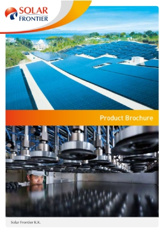 Solar Product Brochure