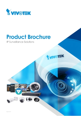 Surveillance Solutions Product Brochure