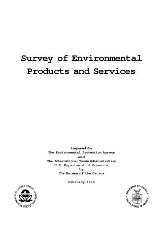 Survey of Environmental Products and Services