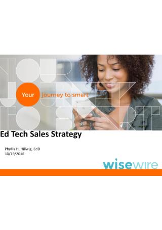 Tech Sales Strategy