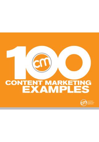 100 Content Marketing Examples eBook