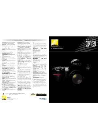Camera Product Brochure