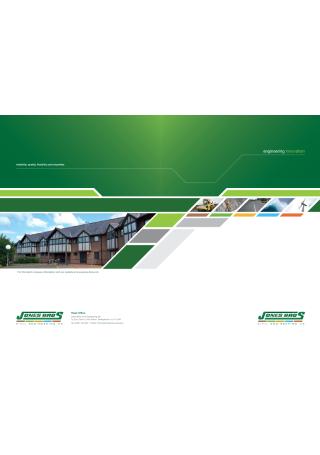 Civil Engineering Innovation Brochure