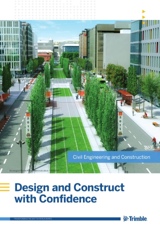 Civil Engineering and Construction Solutions Brochure