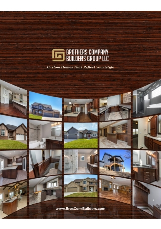 Company Builders Group Brochure