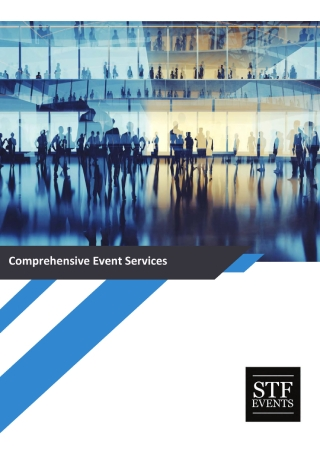 Comprehensive Event Services Brochure