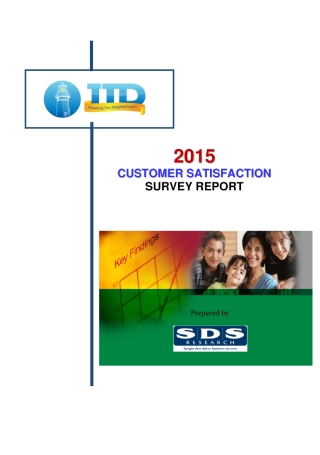 Customer Satisfaction Survey Report